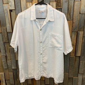 CP Shades white blouse shirt top size medium